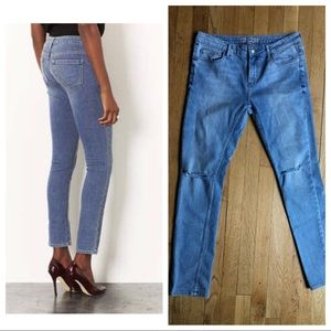 TOPSHOP Moto Baxter Ripped Knee Jeans - 30